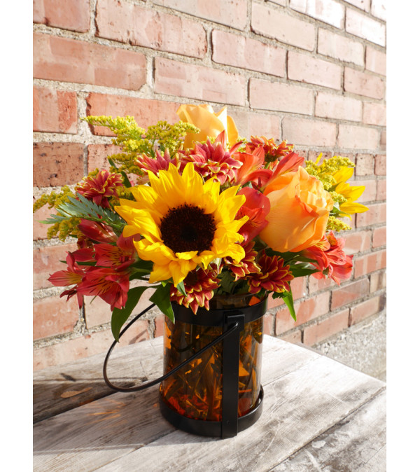 Give Thanks Lantern Bouquet