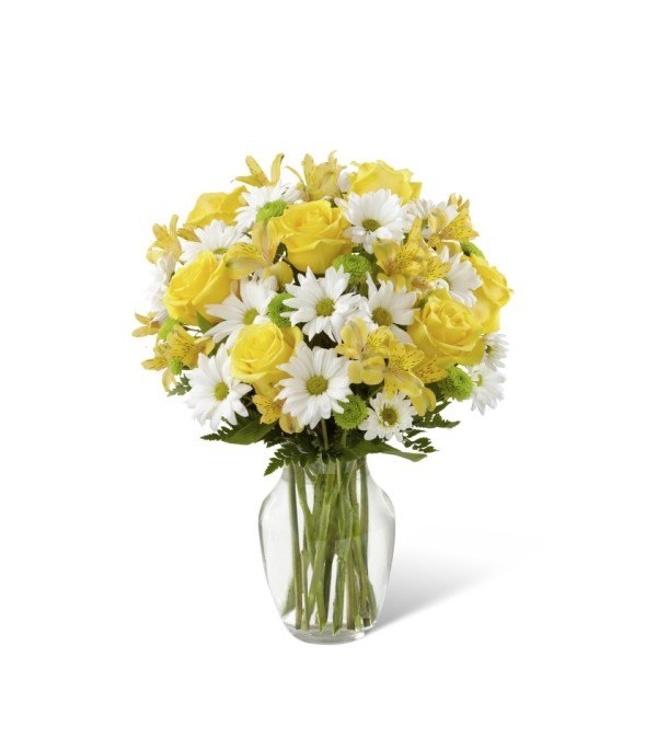 The Sunny Sentiments Bouquet By Ft South Woodstock Ct Florist
