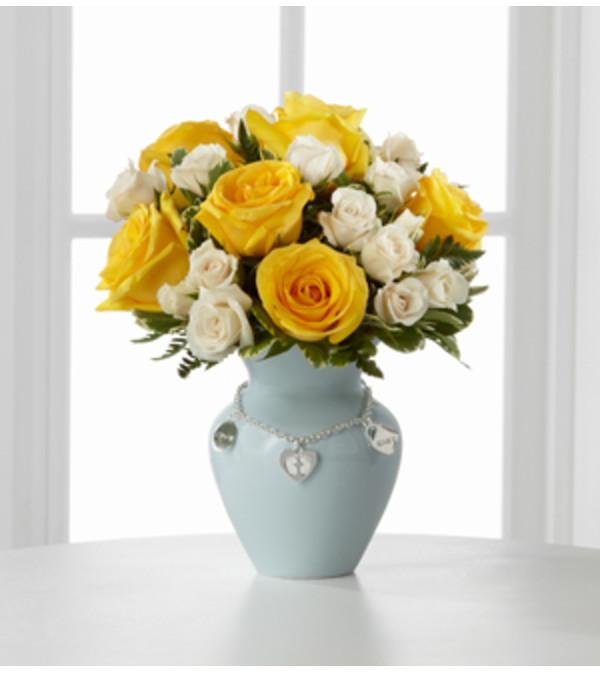 Mother's Charm™ Rose Bouquet - Boy