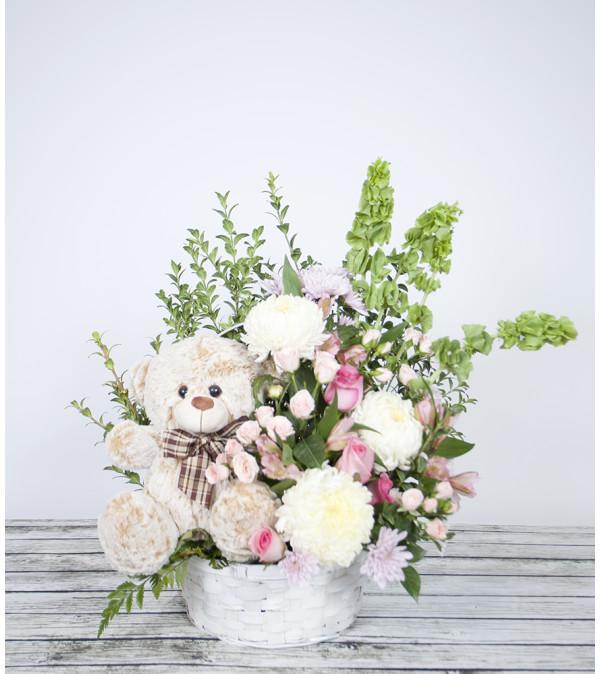 Cuddly Bear Arrangement
