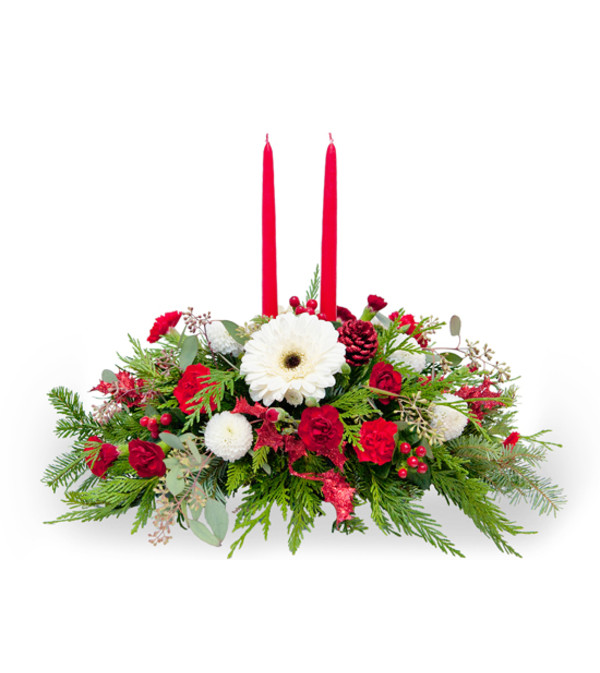 Double Candle Centerpiece