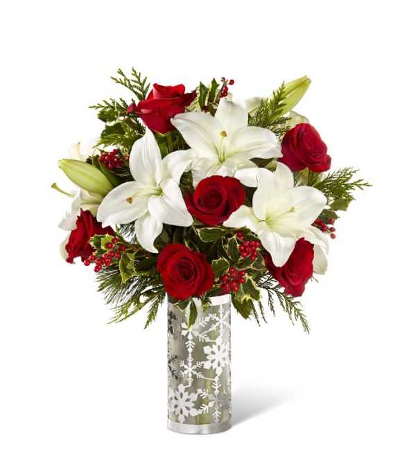 The ftd holiday elegance™ bouquet iowa city ia