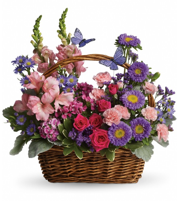 Country Basket Blooms DW