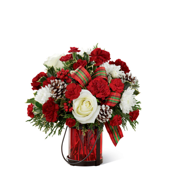 The FTDR Holiday WishesTM Bouquet By Better Homes And Gardens 2015