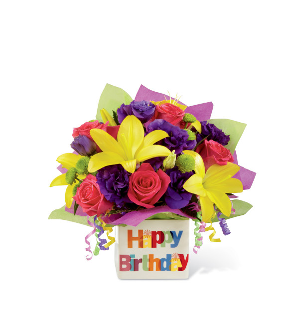 The FTD® Happy Birthday Bouquet - Williamsport, PA Florist