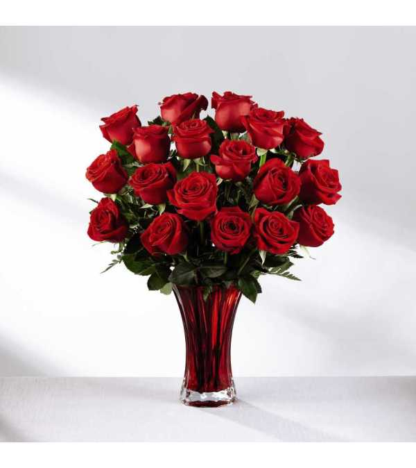 The FTD® In Love with Red Roses™ Bouquet 2017