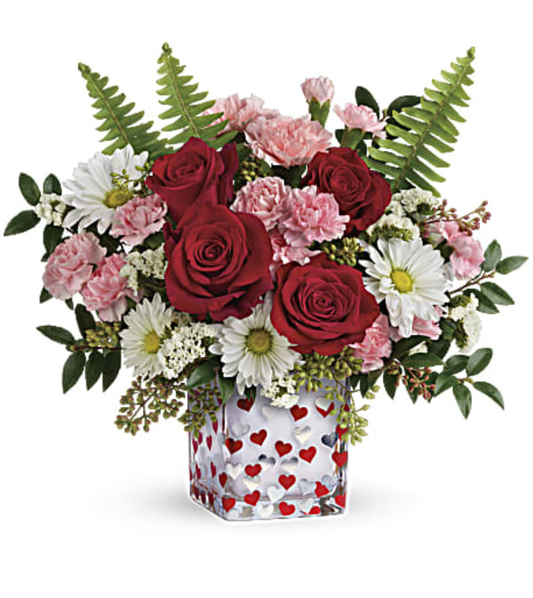 Teleflora's Pop Hearts Bouquet