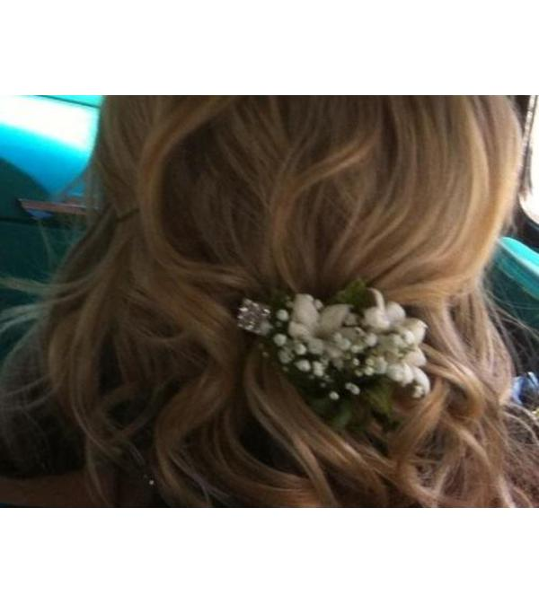 Stephanotis Hair Clip