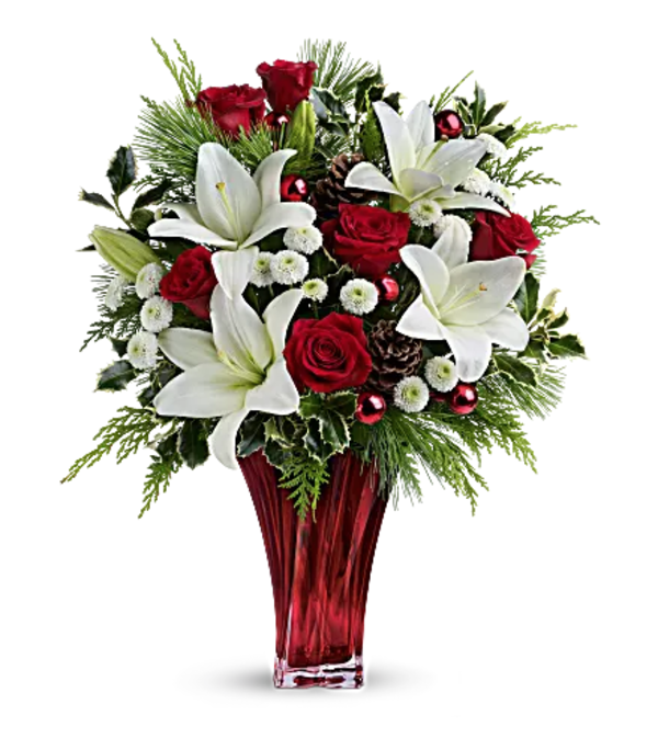 Teleflora's Wondrous Winter Bouquet