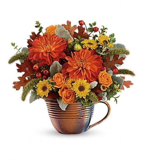 Teleflora's Autumn Sunrise Bouquet