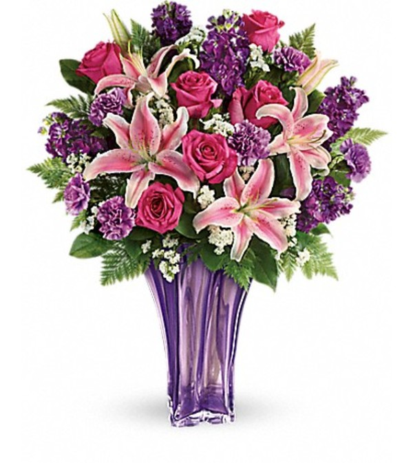 Teleflora's Luxurious Lavender Bouquet