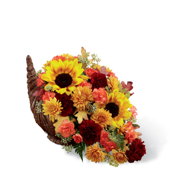 The FTD® Fall Harvest™ Cornucopia 2014