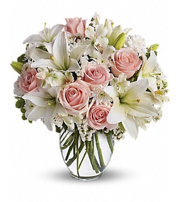 Pink white flowers west palm beach fl florist pink white flowers mightylinksfo