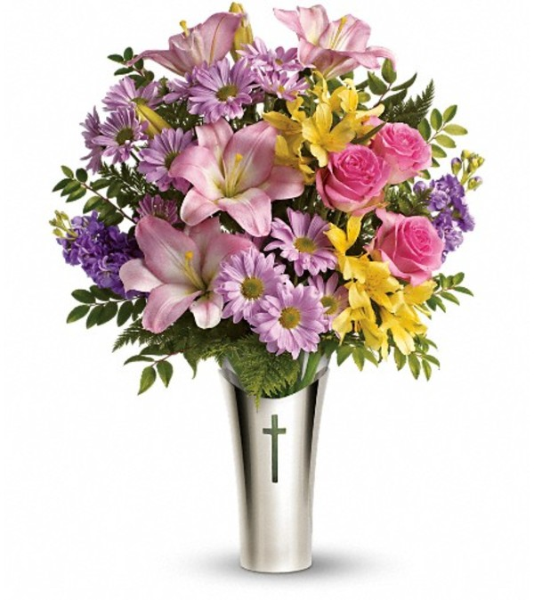 Teleflora's Silver Cross Bouquet