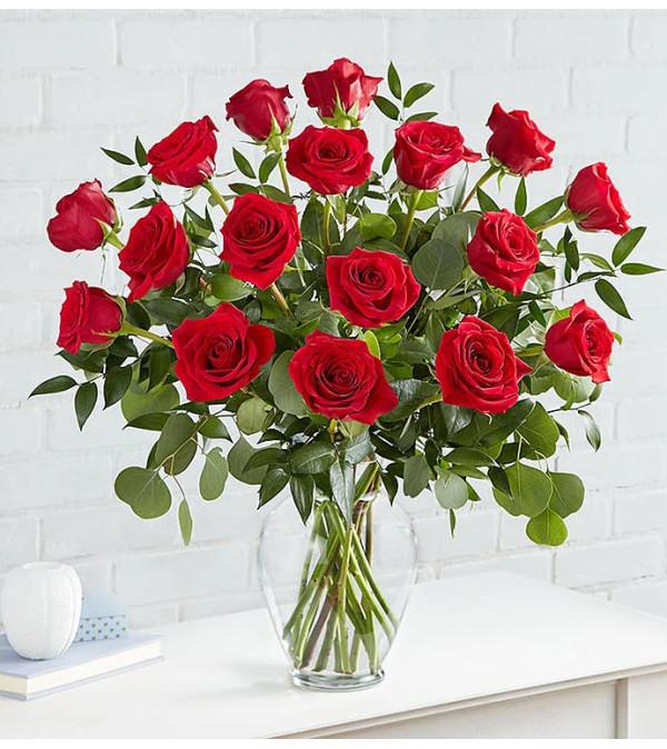 Heart's Desire™ Long Stem Red Roses