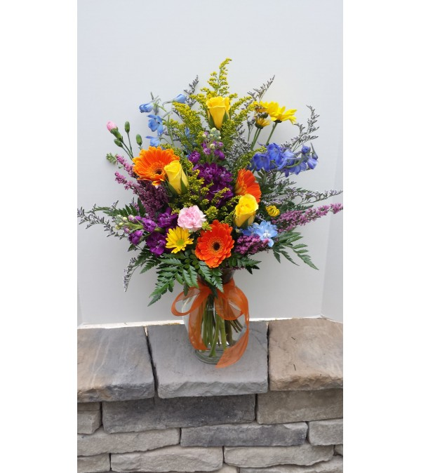 A bouquet in the Springtime