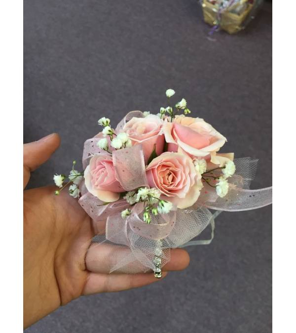 Milky Pink Passion Corsage