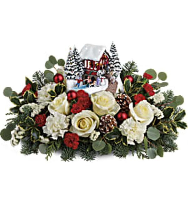 Thomas Kinkade's Christmas Bridge Bouquet