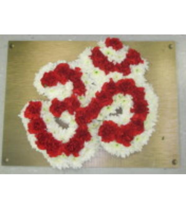 OM  Religious symbol Small