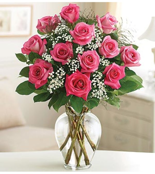 A Classic Pink Doz Roses