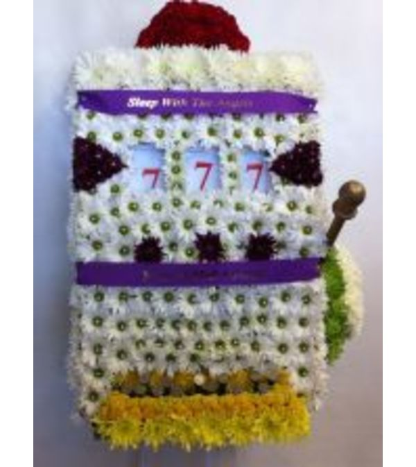 Funeral Custom Slot Machine Sympathy