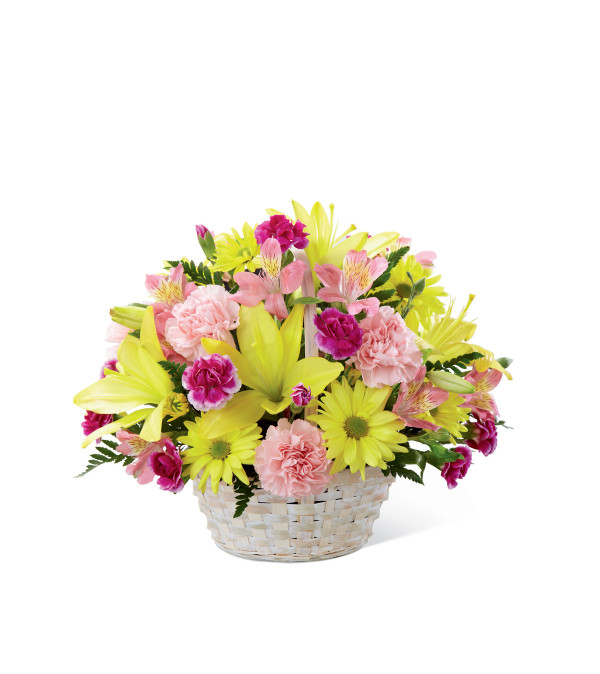 The FTDR Basket Of CheerR Bouquet
