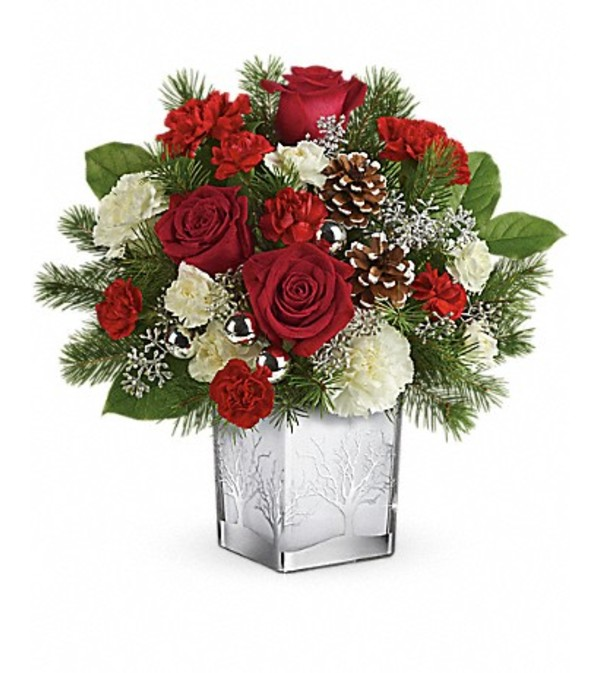 Teleflora's Woodland Winter Bouquet
