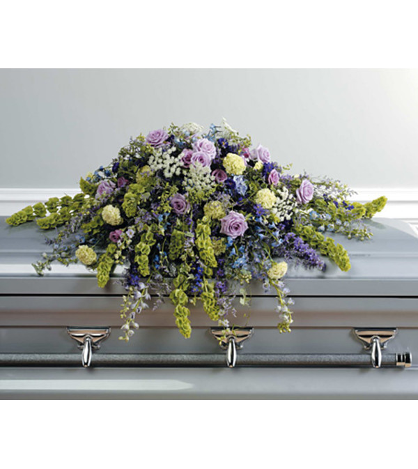 Wildflower Casket Spray