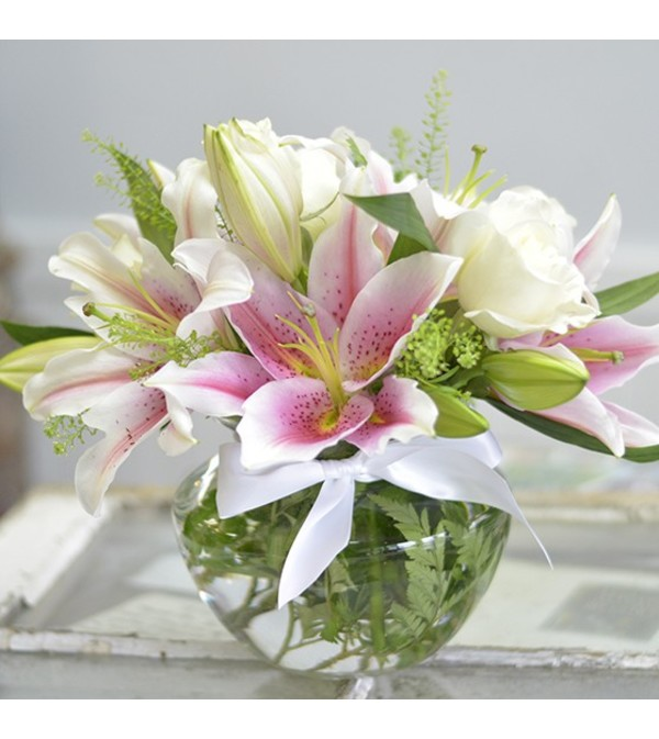 Lilies and Roses