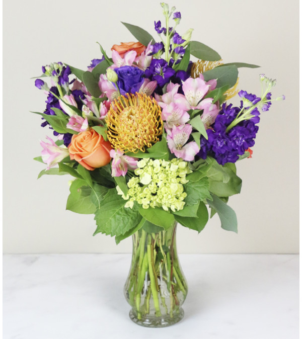 Pin Cushion Delight Arrangment