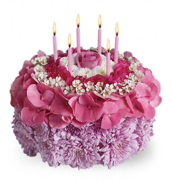 Birthday Cake Arrangement