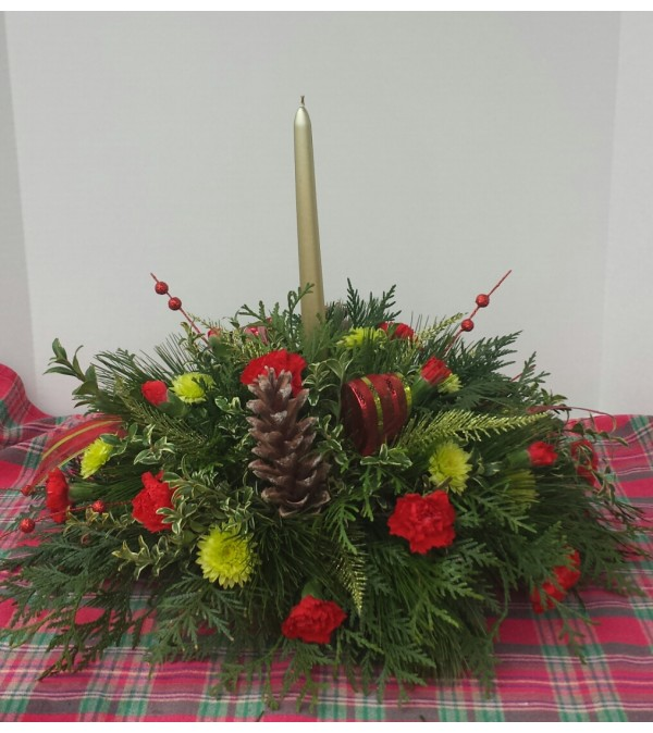 All about Christmas Centerpiece