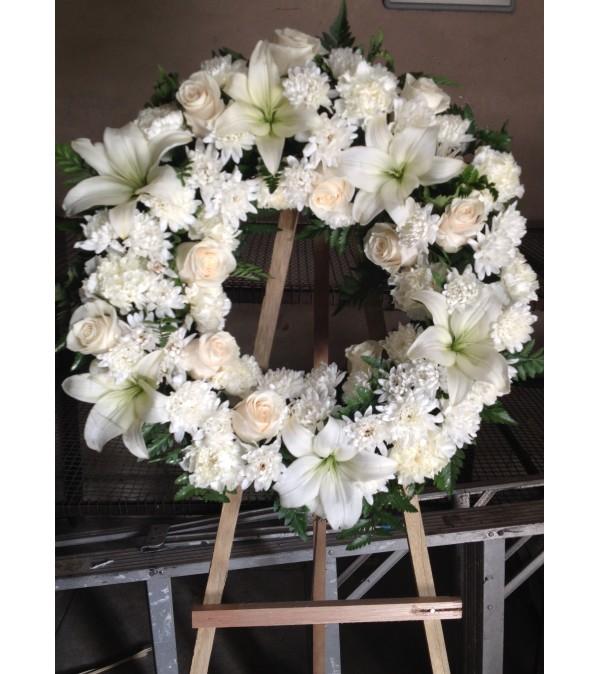 deepest sympathy wreath