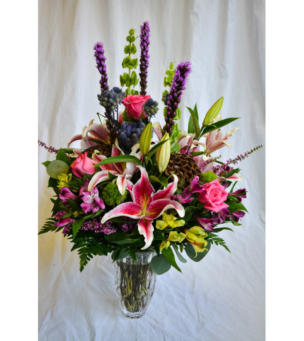 Waterford Lily Bouquet