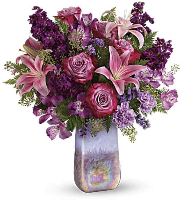 Teleflora's Amethyst Jewel Bouquet