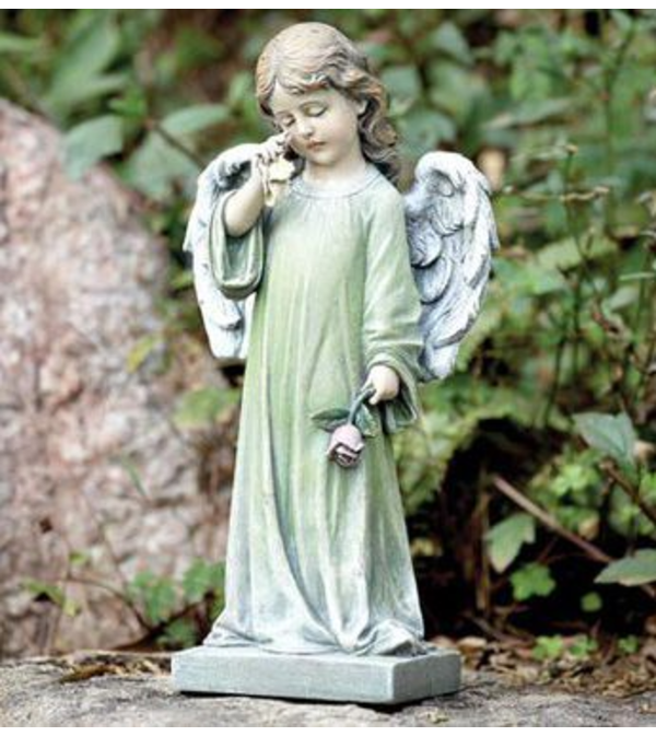 WEEPING ANGEL FIGURINE