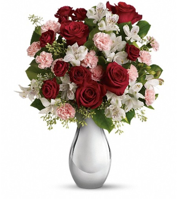 Teleflora's Crazy for You Bouquet -RosesTeleflora's Crazy for You