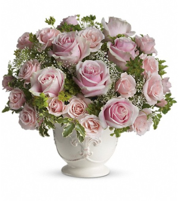 Teleflora's Parisian Pinks with Roses
