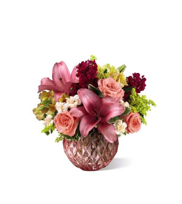 The FTD® Pink Poise™ Bouquet