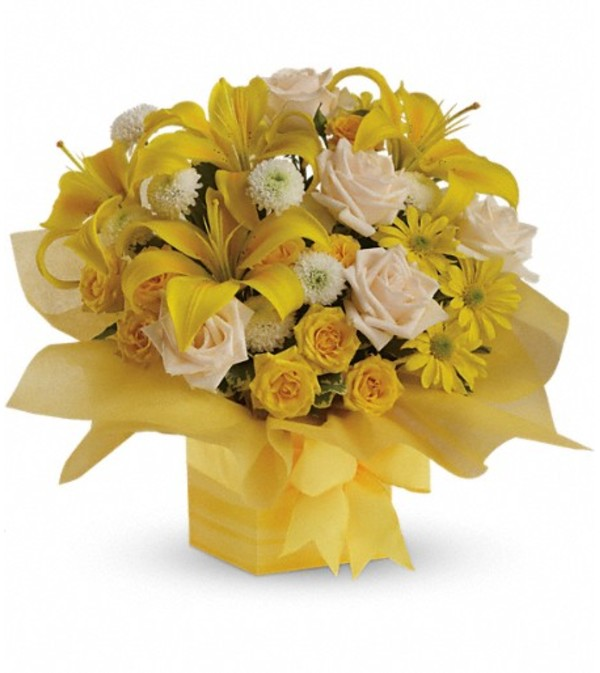 Teleflora's Sunshine Surprise Present