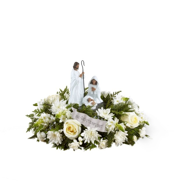 DaySpring® God's Gift of Love™ Centerpiece by FTD® 2017
