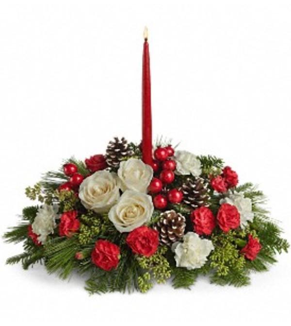 Teleflora Christmas 2019.Teleflora Christmas Aglow Bowmanville On Florist