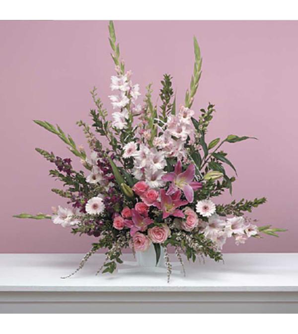 Traditional Pink Arrangement