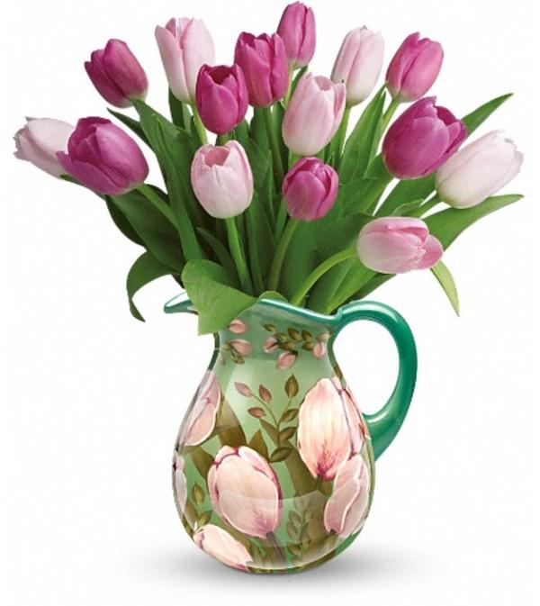 Teleflora's Pitcher Perfect Bouquet