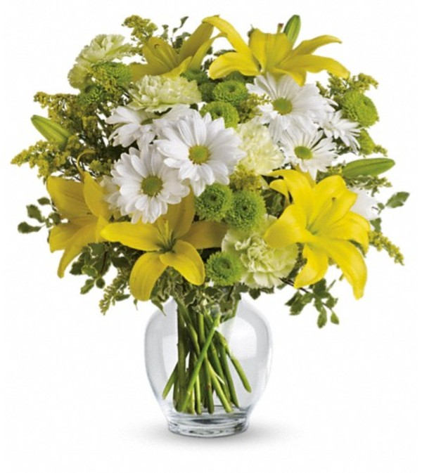 Teleflora's Brightly Blooming