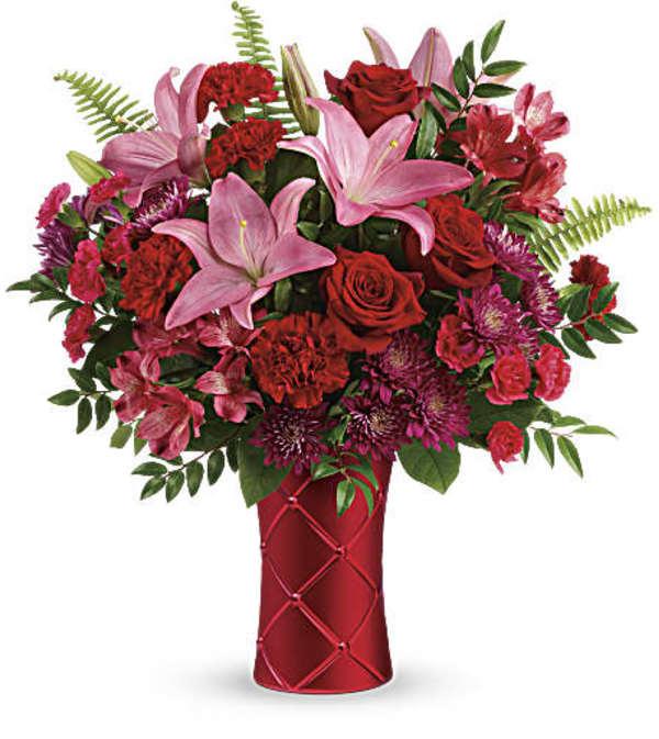 Teleflora's Satin Kisses Bouquet