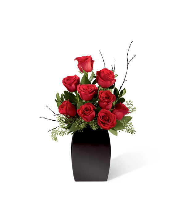 The FTD® Contemporary™ Rose Bouquet