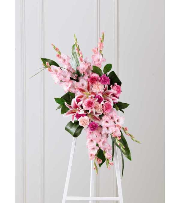 The FTD® Sweet Farewell™ Standing Spray