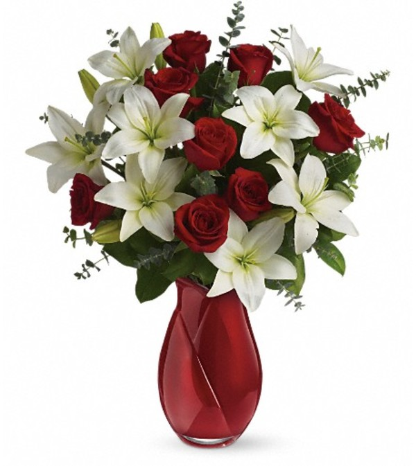 Teleflora's Look of Love Bouquet