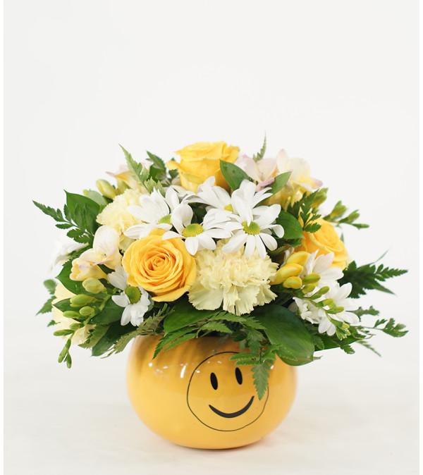 Yellow Sunshine and Smiles Design